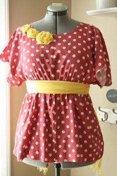 A whole list of ways to refashion thrift store finds-old dresses, sheets, and pants