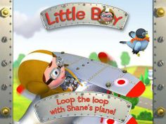 Shane's plane - Little Boy - an interactive storybook (5 pages/scenes, 2 reading modes) based on a book from the popular 'Little Boy' series. Appysmarts score: 83/100 http://www.appysmarts.com/application/shane-s-plane-little-boy,id_100688.php