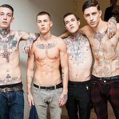 #tattify #tattoo #tattoos #shirtless #abs #guys #ink Tathunting for stomach tats x shirtless men
