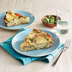 Tortilla Española | CookingLight.com #myplate  #vegetables #dairy #protein
