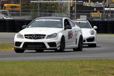 James Stancel's 2012 Mercedes-Benz C63 AMG Black Series will be competing in the 2014 #OUSCI