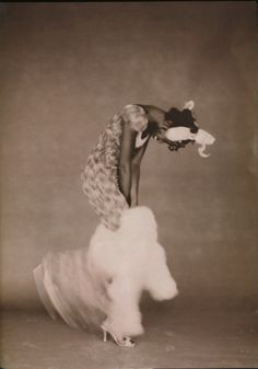 Naomi Campbell photographed by Paolo Roversi - Vogue Italia: September 1996 - Royale