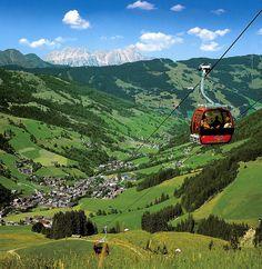 Green Valey in Saalbach-Hinterglemm, Salzburg  #austria #salzburg #saalbach #summer #hiking #gondola #mountains