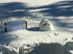#snowman in trouble! #sendhelp #xmas #letterstosanta http://www.fatherchristmasletters.co.uk/google