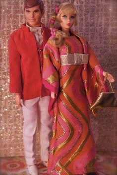 Vintage Barbie - Talking Ken and Talking Barbie