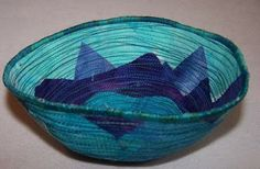 How to make a Fabric Bowl Tutorial -  instructions on how to make a bowl pattern from a real bowl. (think felt)