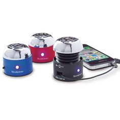 Puts out great sound. Affordable and rechargeable.