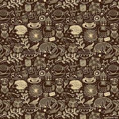 my-favorite-things-pattern_big by apolinarias, via Flickr
