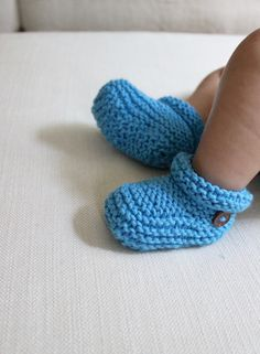 Hand Knit Baby Booti