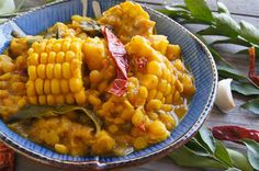 Curried Corn Stew on www.cookingontheweekends.com