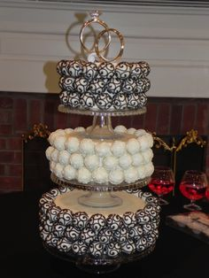 wedding cake pops | ... wedding cake pop cakes! | beyond the aisle: sweet trend watch: wedding
