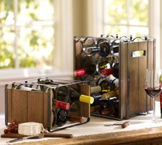 Industry Wine Bottle Racks - Pottery Barn