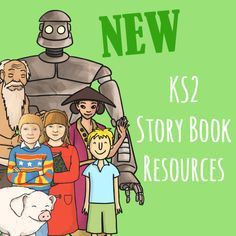 KS2 Story book resources - twinkl
