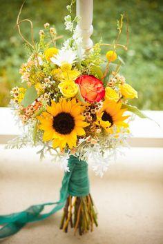 {sunflower bouquet}
