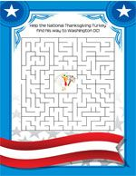 Fun stuff for kids - mazes, crossword puzzles and a color sheet ... just in time for Thanksgiving!  via www.minnesotaturkey.com/presidentialturkey