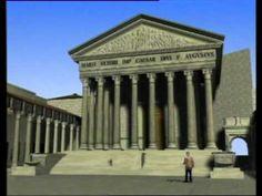 Reconstrución en 3d do Foro de Augusto.