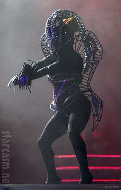 Lady Gaga alien costume from Born This Way Ball concert