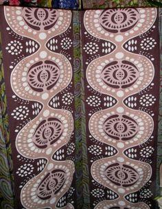 EUC-marimekko-rival-tampella-vintage-curtain-panels-striking