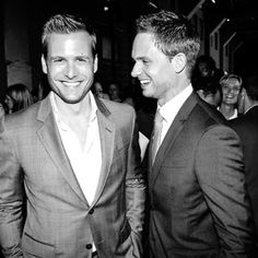 Gabriel Macht & Patrick J. Adams #Suits