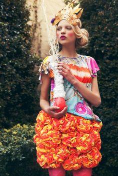princess, crowns, neon, colors, dresses, christ, dress up, fashion photography, parti