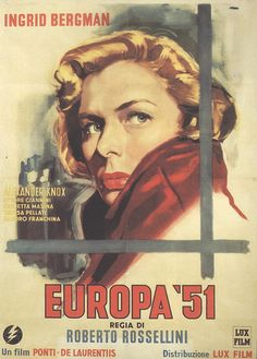 Europa '51 by Roberto Rossellini- The Greatest Love, 1952  italiangerry, via Flickr