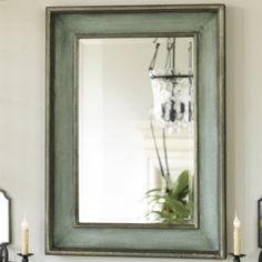 Ogden Mirror - Ocean Blue Mirror -