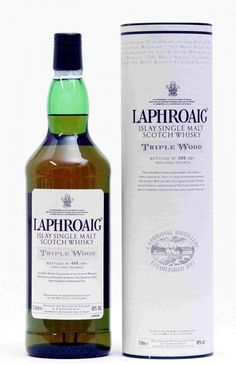 Laphroaig Triple Wood - This expression of our famous whisky, from the remote island of Islay in the Western Isles of Scotland, has enjoyed a triple maturation in 3 types of cask. Just as with our standard Quarter Cask expression, the first maturation is in American oak, ex-bourbon barrels. (read more...)