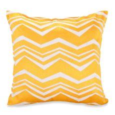 Trina Turk® Coachella Yellow Zigzag 20-Inch x 10-Inch Toss Pillow master decor, pattern, coachella, decorative pillows, pillow power, perfect pillow, bedroom yellow, apart, decor idea