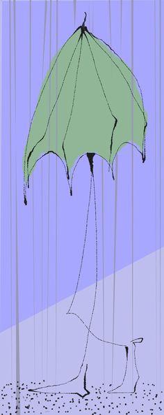 Raining and Pouring... The Umbrella Man