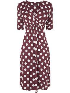 PHASE EIGHT - Polka Dot Dress  #Fashiongetaways #London House of Fraiser