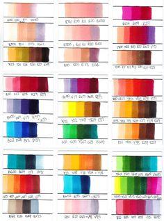 copic color combinations