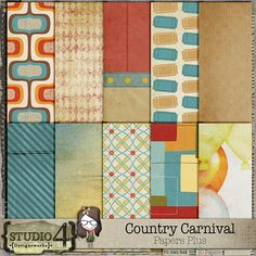 Country Carnival Papers Plus