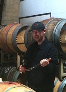 Barrel tasting at Nalle Winery, Dry Creek Valley