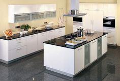 Moderne Keukens on Pinterest  Bespoke, Vans and Industrial Kitchens