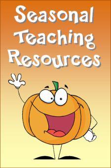 Seasonal teaching freebies like pumpkin seed multiplication and Halloween daily math puzzlers