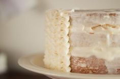 How to do DIY Ruffle Icing on a cake.