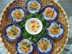 Banh Beo + Vietnamese Cuisine  (Shrimp rice cakes)