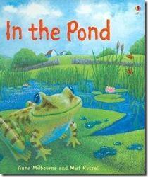pond theme, book, pond life, printabl