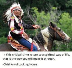 Chief Arvol Looking Horse Wisdom