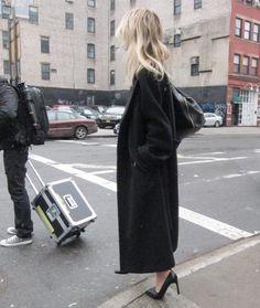 long coat #minimal #style