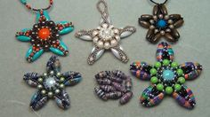 Holiday Stars and Snowflakes Jewelry Part 1