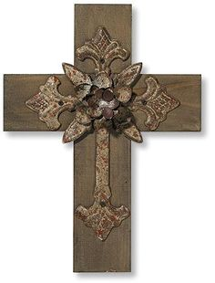 GRT298: Set of 4 - Testify Wall Cross Assortment craft, cross obsess, cruce, color, wall crosses, christma cross, kruis, nice cross, croix