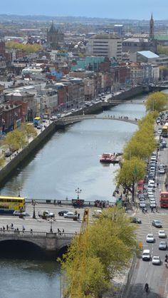 dublin ireland, dublin cityscap, bridg, place, ireland travel
