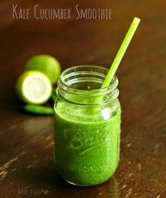 Ma Niche: Kale Cucumber Smoothie