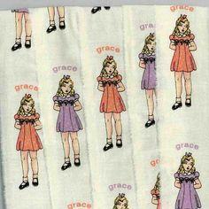 dress muslin, orang, handmad ribbon, purpl dress