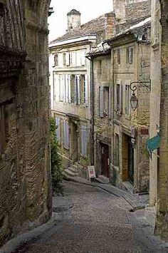 St Emilion, France -- a lovely old village amidst the vineyards