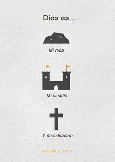 Dios es... mi esperanza, mi castillo, mi salvacion