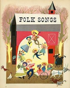 illustration by Mary Blair for a Golden Book