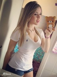 Girl nude Beautiful selfie