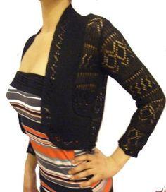 Bolero effet tricoter en crochet: Amazon.fr: Vêtements et accessoires